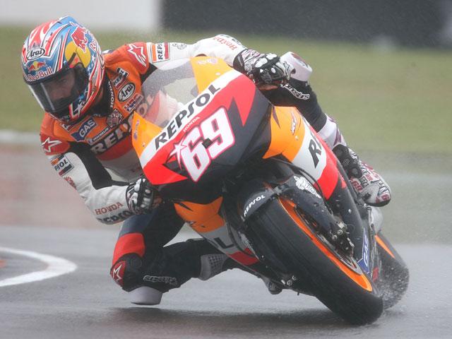 Dani Pedrosa (Honda) despierta en Assen