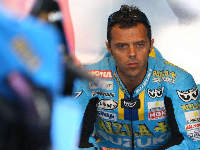 Capirossi (Suzuki) no correrá en Assen