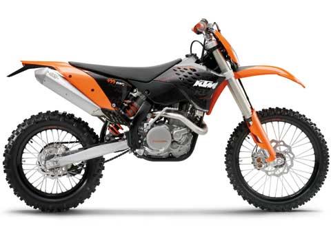Novedades 2009. Gama KTM de enduro, motocross y minimotos