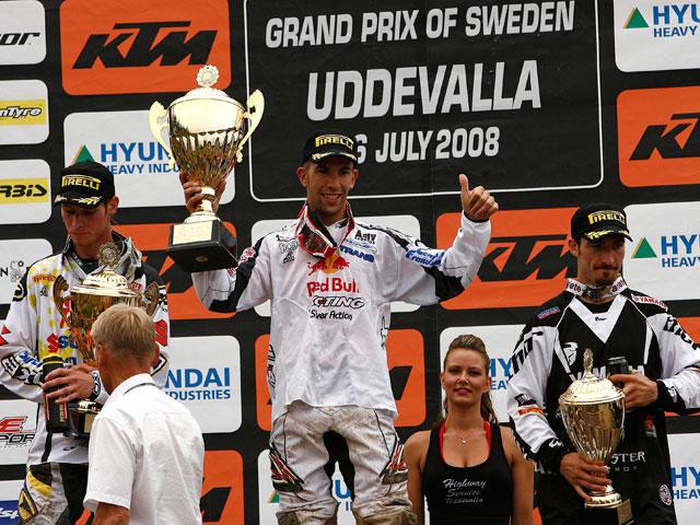 Imagen de Galeria de Jonathan Barragán (KTM) gana el GP de Suecia