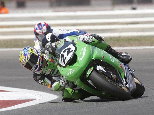 Iván Silva, piloto Yamaha