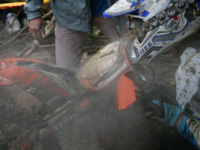 Xavi Galindo (KTM) se lleva la victoria en el Gordexola X-treme