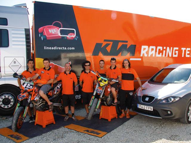 KTM España y SEAT unidos por el deporte