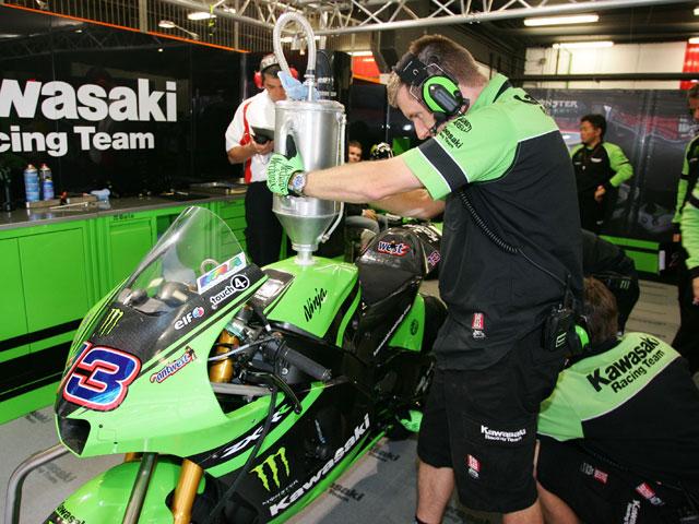 Jaime Hacking pilotará la Kawasaki de John Hopkins en Laguna Seca