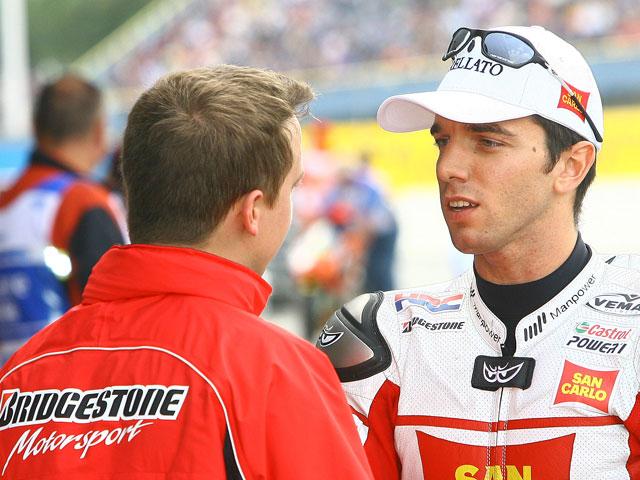 Stoner (Ducati) empieza dominando el GP alemán