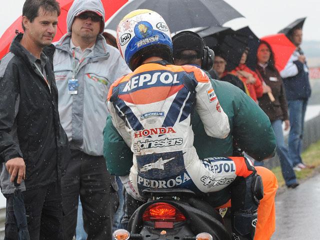 Dani Pedrosa (Honda) recibe el alta hospitalaria