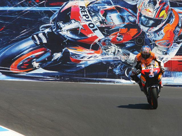 Imagen de Galeria de Una vuelta al circuito de Laguna Seca con Nicky Hayden (Honda)