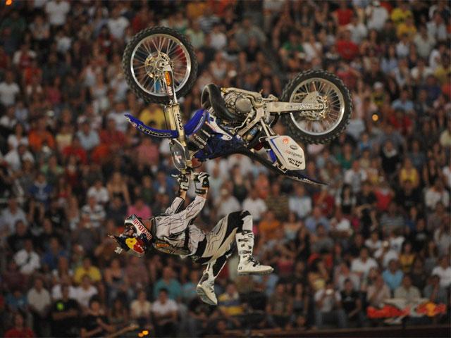 Red Bull X-fighters. Y Las Ventas vibró con Dany Torres