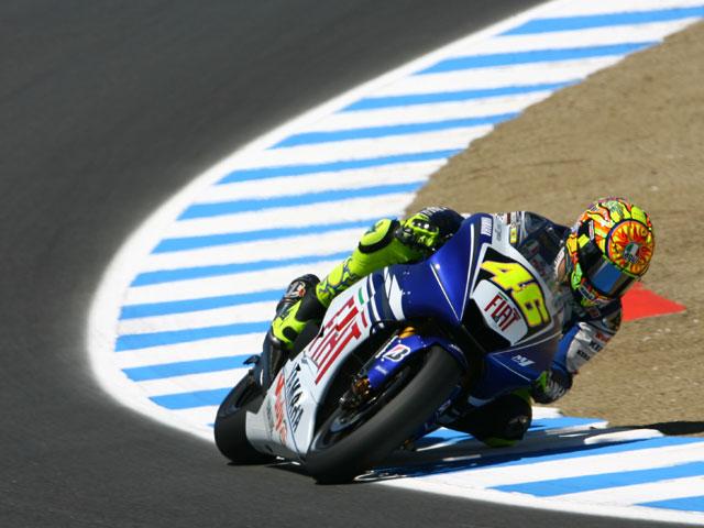 C.Stoner (Ducati) impone de nuevo su ritmo en Laguna Seca