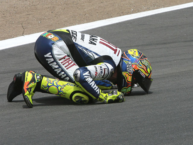 "Valentino Rossi (Yamaha): ""Ha sido fantástica la lucha con Stoner"""
