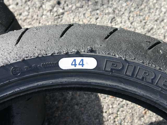 Mantenimiento moto: Neumático delantero