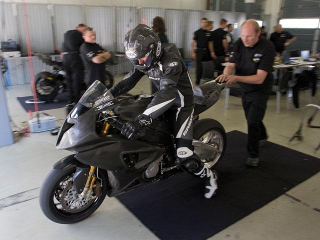 Imagen de Galeria de La BMW S 1000 RR sigue su desarrollo en circuito