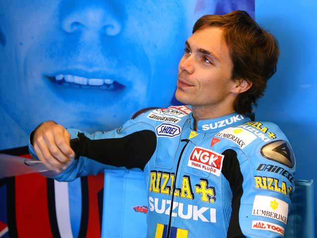 Capirossi y Vermeulen en el Rizla Racing Days