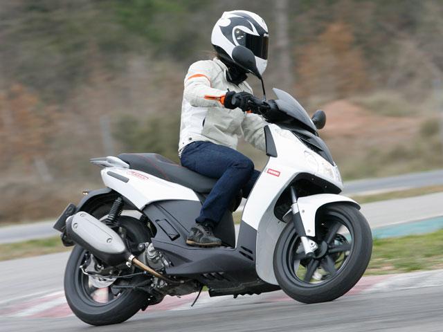 Scooter 125 Rueda Alta