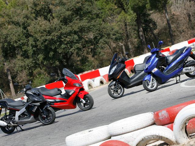 Imagen de Galeria de Scooter 125 Deportivos