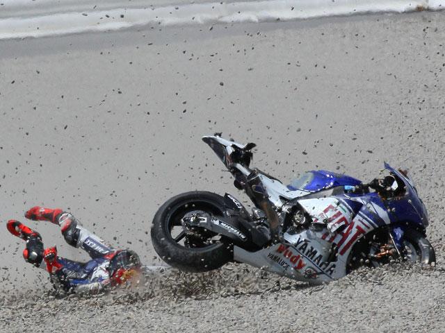 Lorenzo (Yamaha) se enfrenta a sus demonios