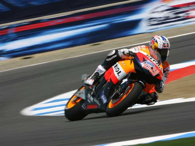 Nicky Hayden (Honda) será baja en Brno