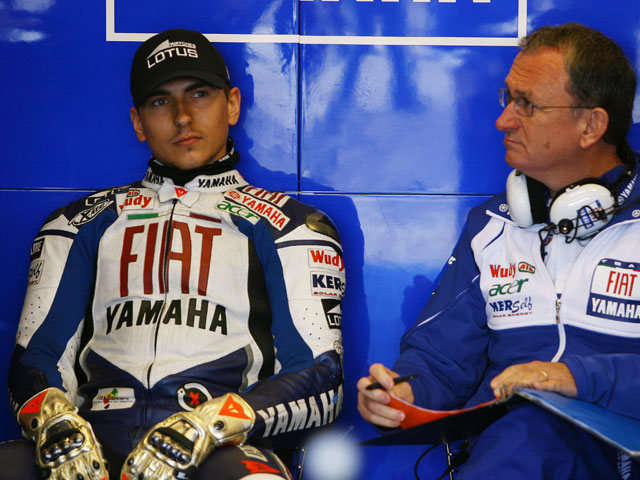 """Jorge Lorenzo (Yamaha): """"El error no es sólo mio"""""""
