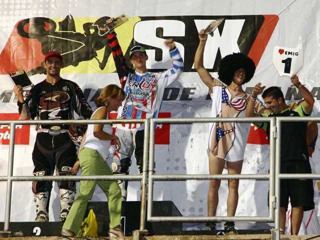 Manu Rivas (Kawasaki) y Joan Cros (Kawasaki), campeones