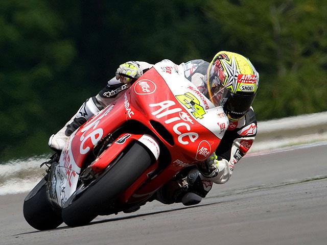 Imagen de Galeria de Stoner (Ducati) vuelve a ser el más rápido en Brno. Elías (Ducati), tercero.