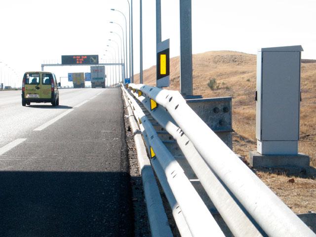 La DGT prueba un nuevo radar para vías secundarias