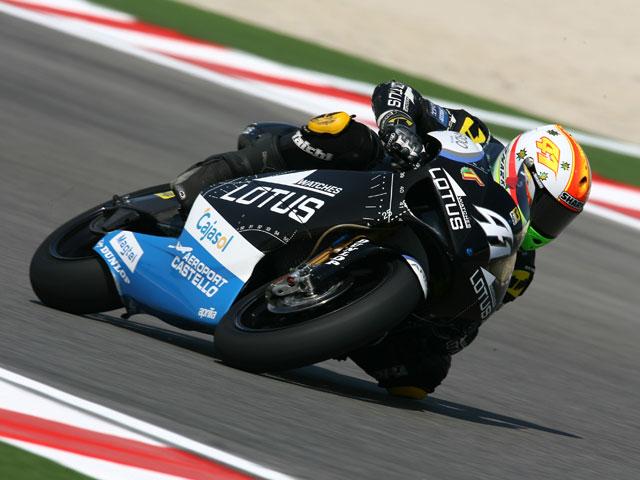 Héctor Barberá (Aprilia) logra la pole en San Marino