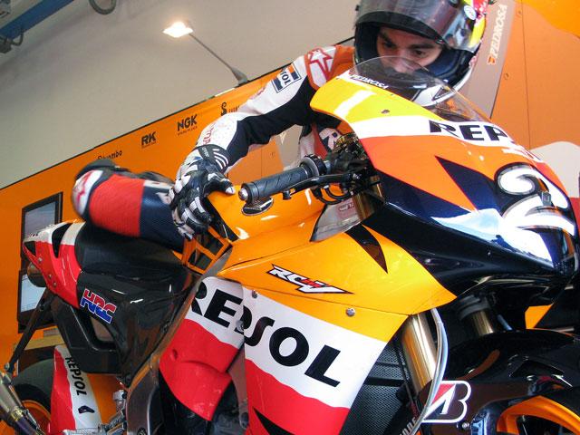 """Dani Pedrosa (Honda): """"Con los Bridgestone parece otra moto"""""""