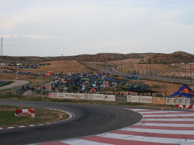 500 moteros en la 27 edición del Motocamp FIM