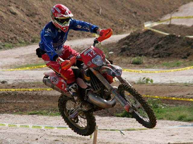 Nuevo triunfo individual de Iván Cervantes (KTM) en los ISDE 2008