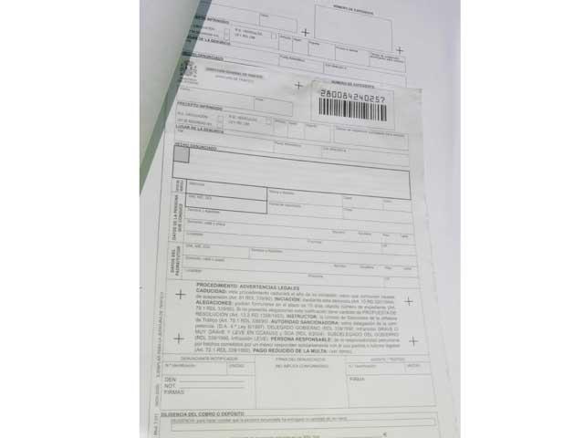 Las multas de Tráfico llegarán por correo electrónico