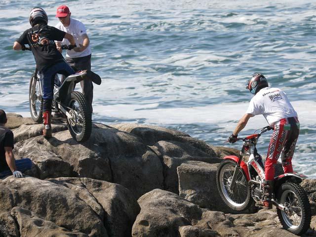El campeonato de España de Trial se traslada a Baiona (Pontevedra)