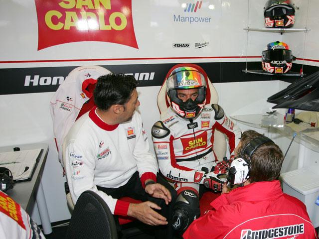 Alex De Angelis renueva por el San Carlo Honda Gresini