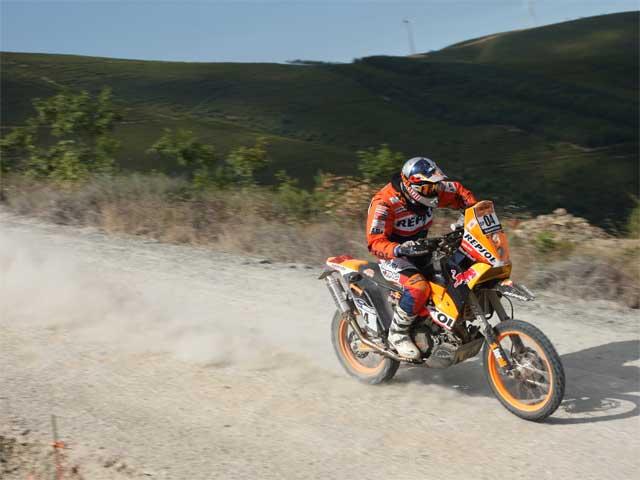 Imagen de Galeria de Marc Coma (KTM) tercero en la primera etapa del Pax Rally