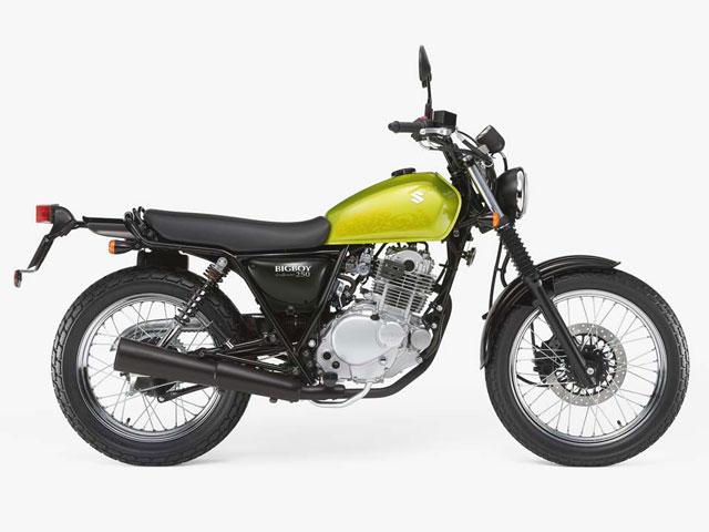 Suzuki TU 250 Grasstracker y Bigboy