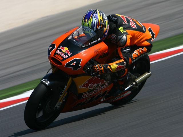 Karel Abraham (Aprilia) se pone al frente en los primeros cronometrados de 250cc
