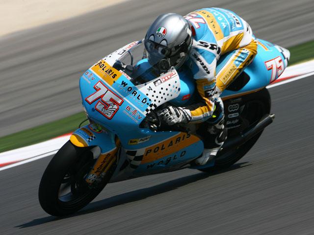 West (Kawasaki), Iannone (Aprilia) y Pasini (Aprilia), al frente en Indianápolis