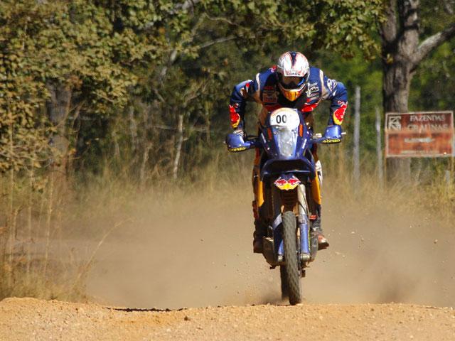 Imagen de Galeria de Victoria de Coma (KTM) en la segunda etapa del Pax Rally