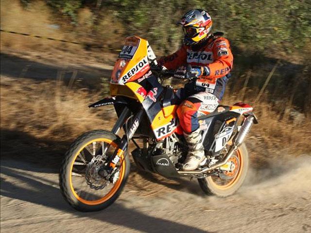 Victoria de Coma (KTM) en la segunda etapa del Pax Rally