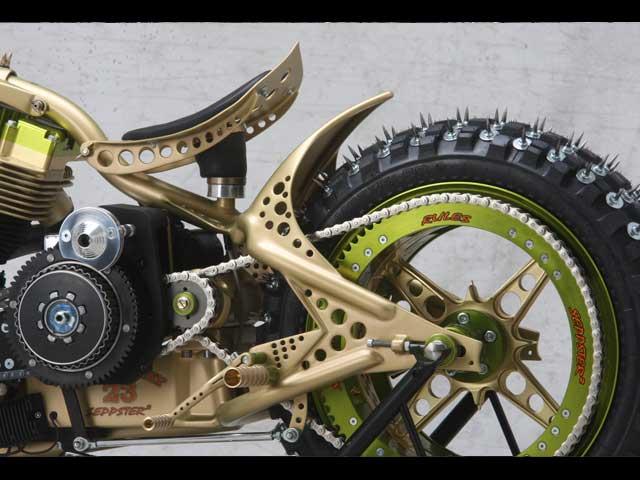 Seppster 2 Ice Racer, tercer premio en el Mundial de Customización Freestyle