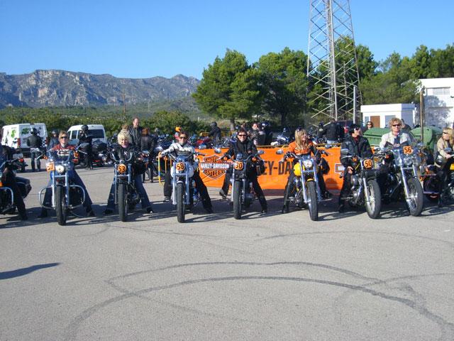 Imagen de Galeria de Cursos de conducción Harley-Davidson