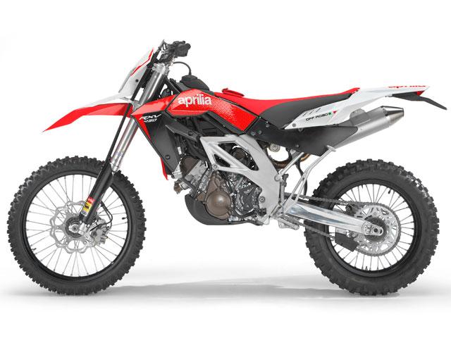 Novedad 2009: Aprilia RXV 450/550