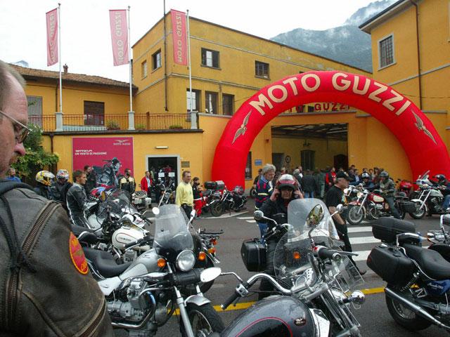 Imagen de Galeria de El Grupo Piaggio absorberá Moto Guzzi