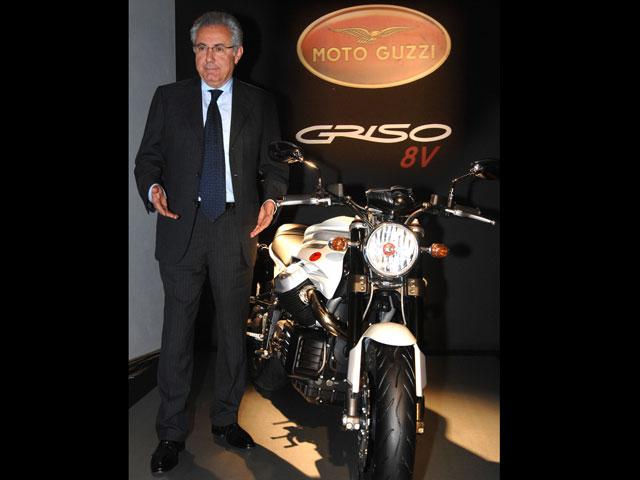 El Grupo Piaggio absorberá Moto Guzzi