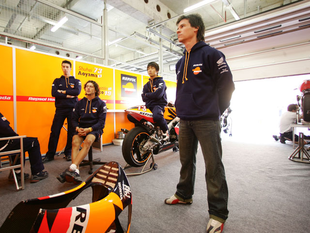 El regreso de Sebastián Porto a MotoGP