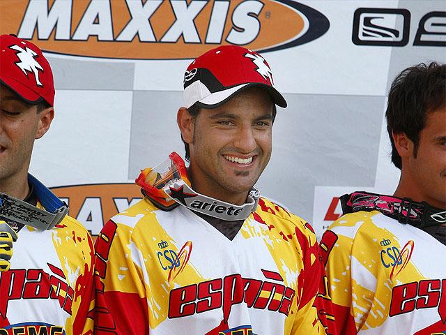 Imagen de Galeria de Cervantes (KTM) Campeón en los Isde de Grecia