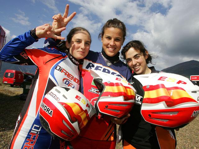 Imagen de Galeria de España campeona del mundo femenina en el Trial de las Naciones 2008