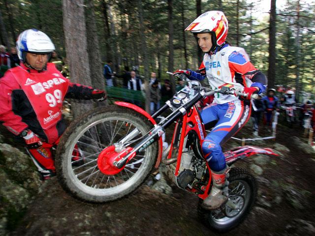 España campeona del mundo femenina en el Trial de las Naciones 2008