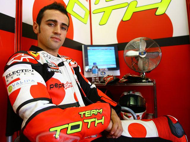 Barberá (Aprilia), fuera del Gran Premio de Japón por lesión