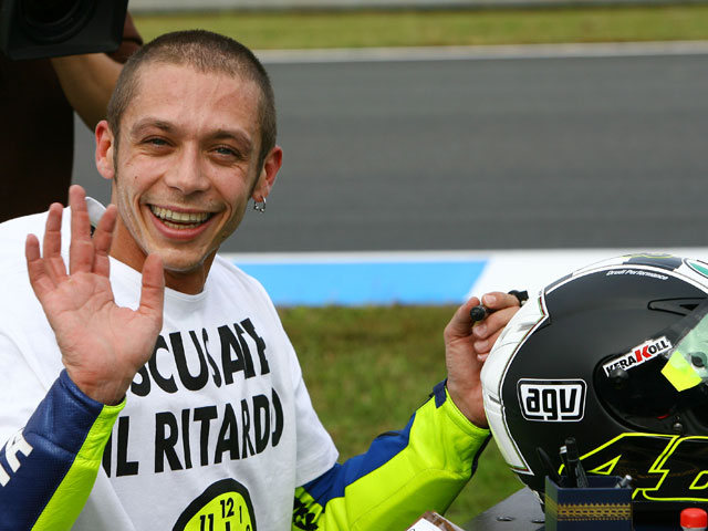 """Valentino Rossi: """"Me gusta esta vida y trato de hacer lo mejor con ella"""""""