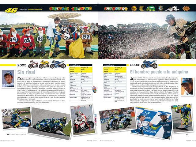 Imagen de Galeria de Los ocho títulos de Rossi (Yamaha) en MOTOCICLISMO